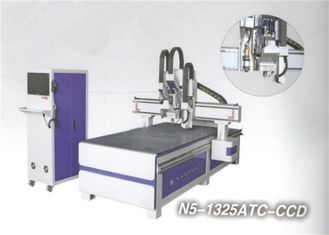 ATC Contour Cutting CNC Engraving Machine exchange double systems
